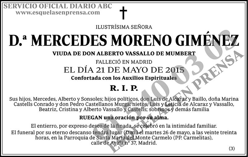 Mercedes Moreno Giménez